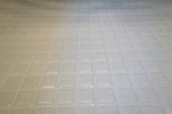 浴室・床掃除①