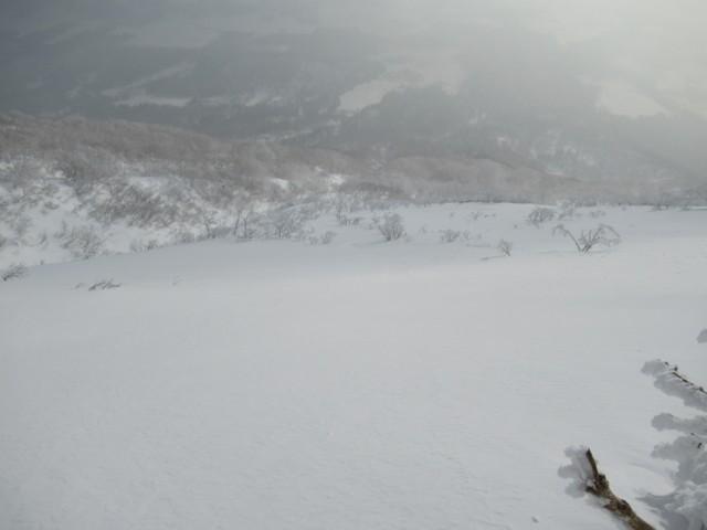 1月2日 1380mでハイク終了