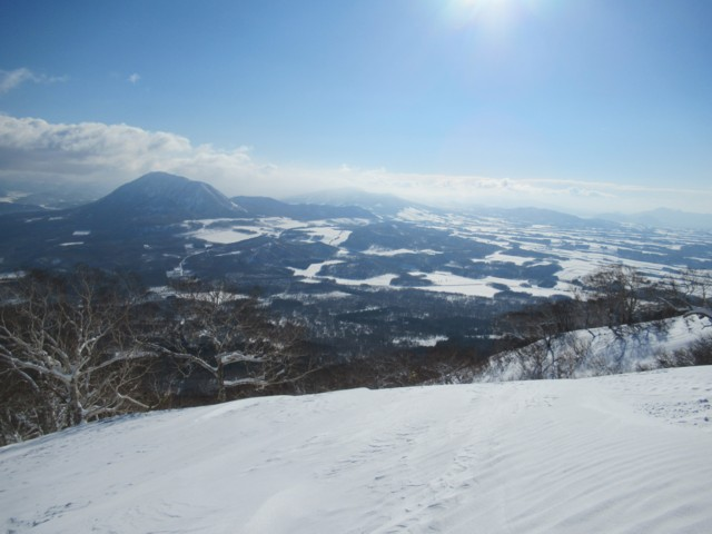 1月5日 尻別岳と貫気別岳
