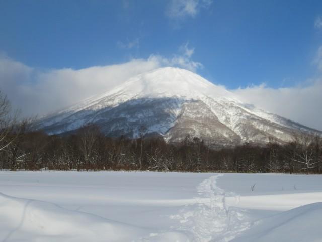 1月6日 おは羊蹄山