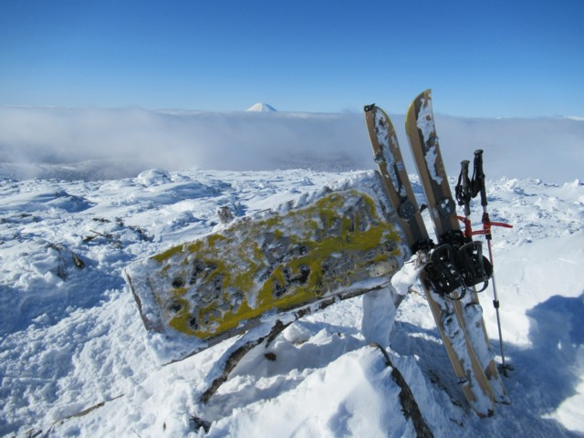 1月8日 漁岳ピーク1318m