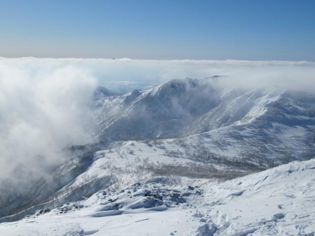 1月8日 小漁山フレ岳のほう