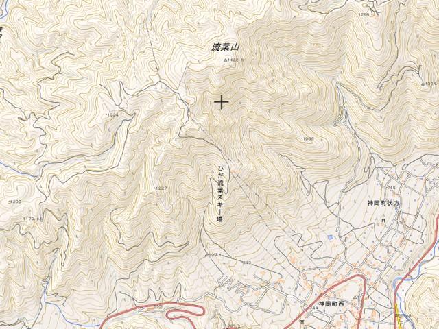 1月22日 地形図