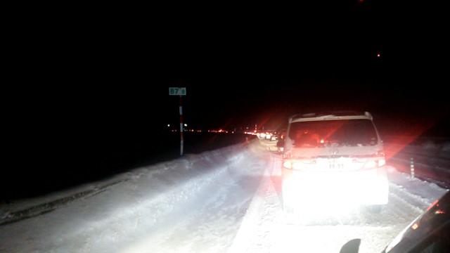 1月22日 安定の渋滞