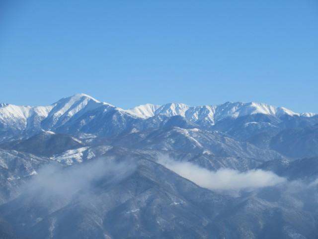 1月28日 黒部五郎岳,三俣蓮華岳,双六岳