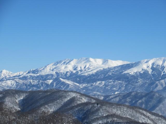 1月28日 薬師岳