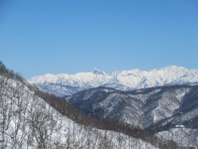 1月28日 立山方面