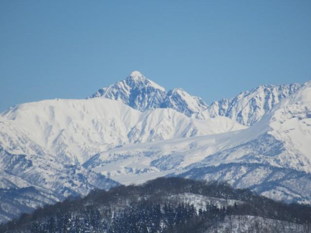 1月28日 剱岳