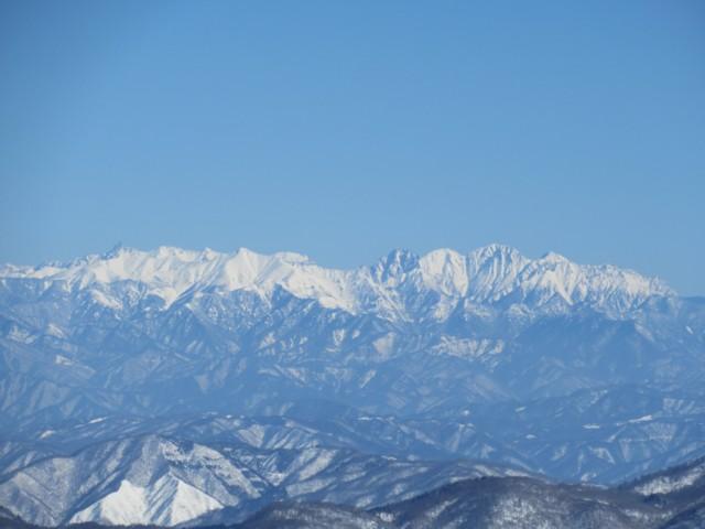 2月4日 槍ヶ岳,笠ヶ岳,穂高岳