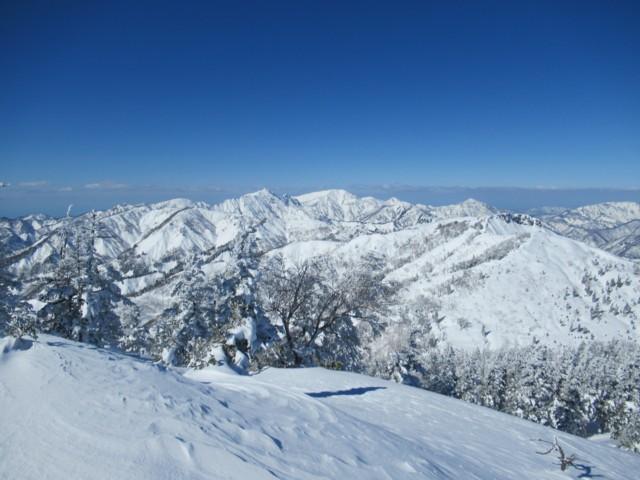 2月4日 笈ヶ岳,大笠山かな??