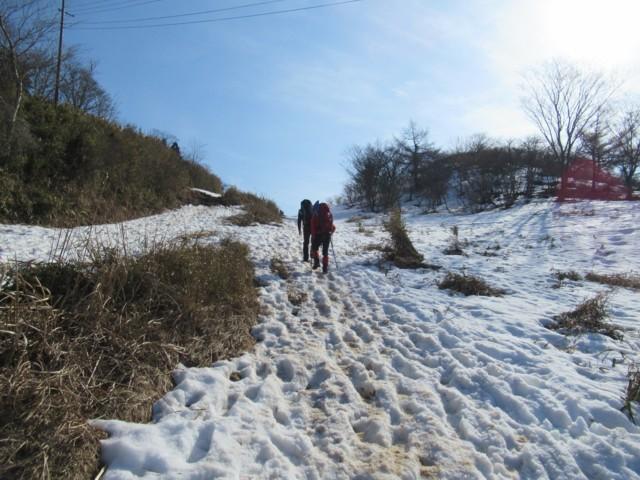 3月5日 650mくらいから雪あった