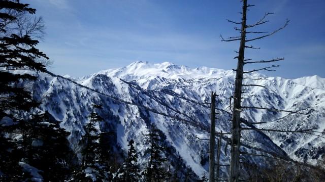 3月12日 霊峰白山