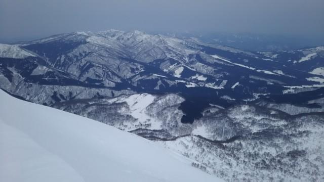 3月18日 水後山と大日ヶ岳