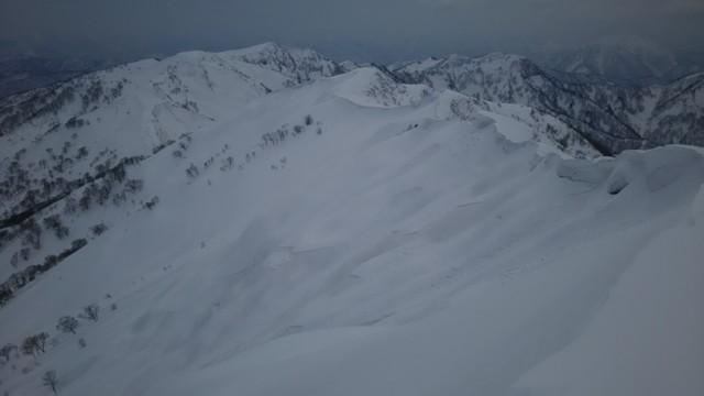3月18日 風下斜面