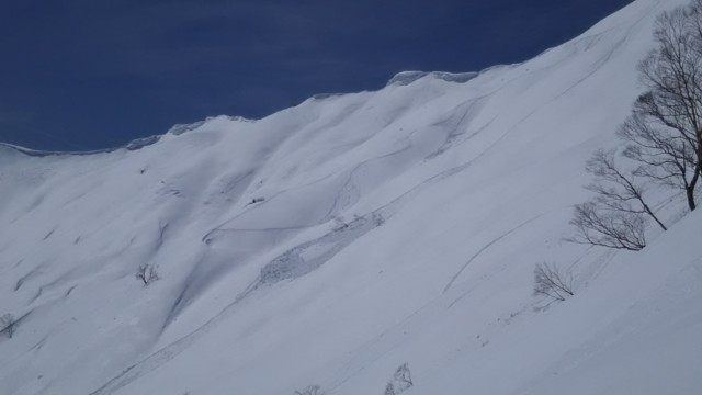 3月25日 デロデロ雪崩
