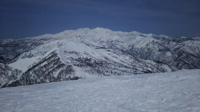 3月25日 薙刀山,別山,白山