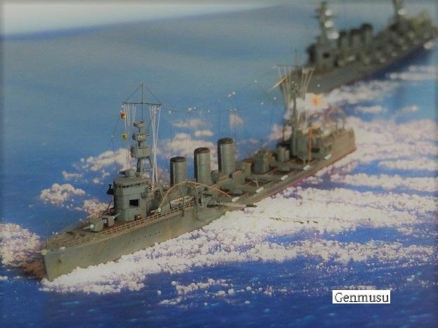 重雷装巡洋艦大井魚雷発射! (2)