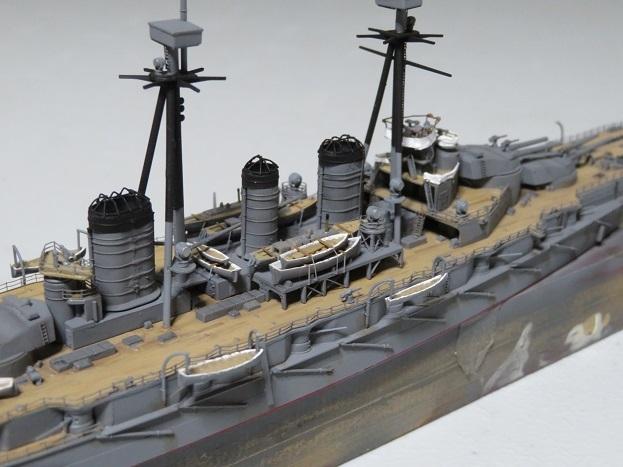 金剛1914船体中央