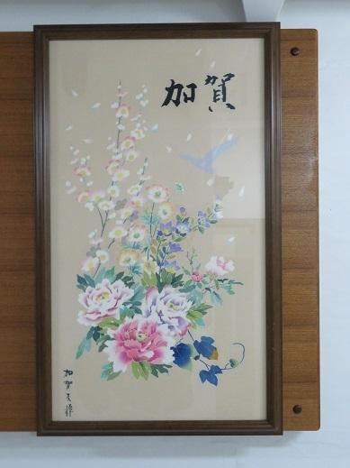 加賀友禅の織物