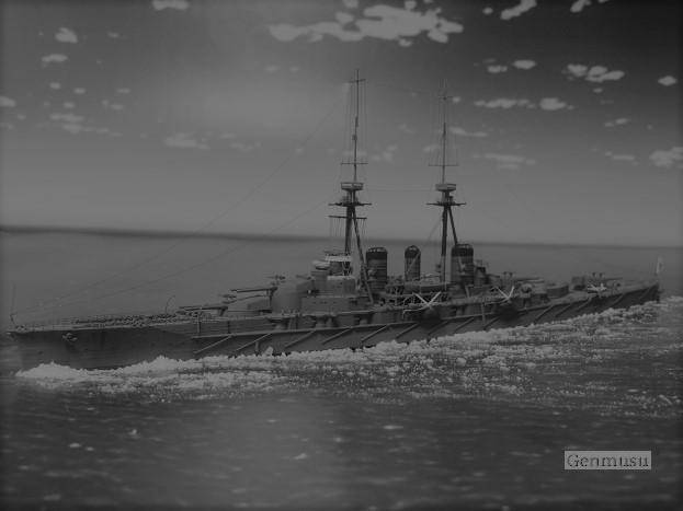 巡洋戦艦金剛1914左舷 (4)