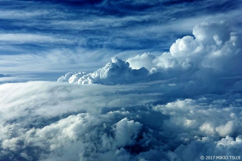 絶景探しの旅 - 0330 夏がここにあった 空の上の世界 (静岡県上空)