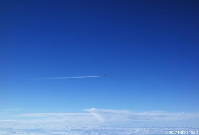 絶景探しの旅 - 0340 青い空の大海原を突き抜ける!(静岡県上空)