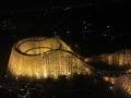 観覧車から見たホワイトサイクロン(夜)