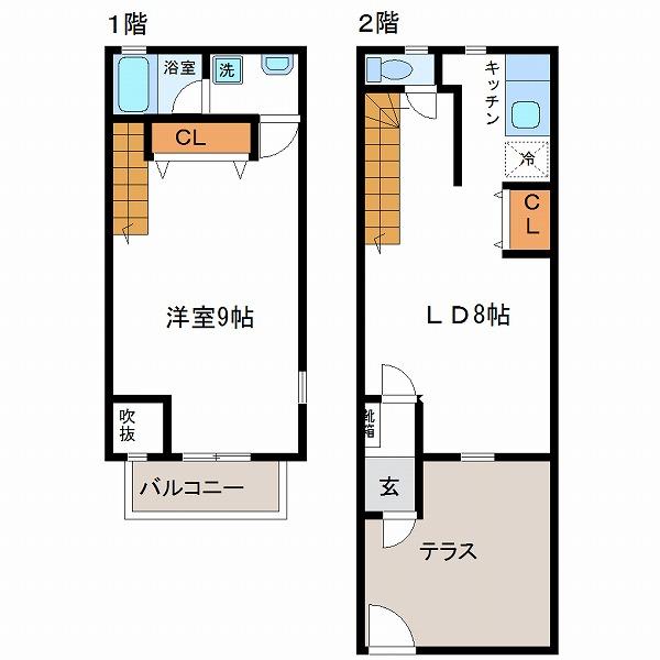 ビーンズハウスⅡ(2号室)