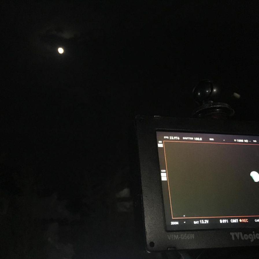20170808-0244 月食 ソドンヨ夜間撮影中