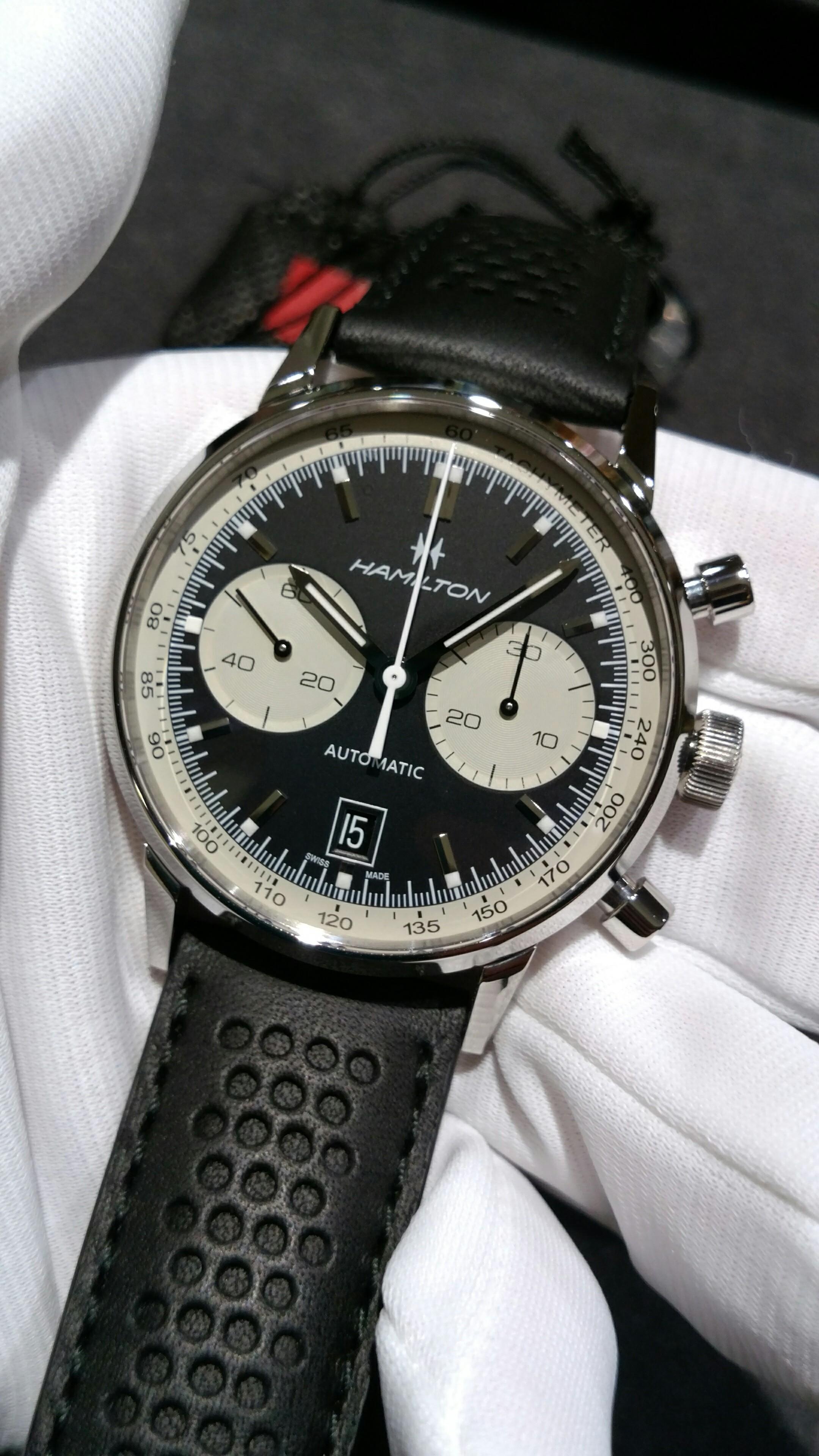 new product 788e6 57de0 サロン・ド・サセ スタッフブログ ハミルトン 時計