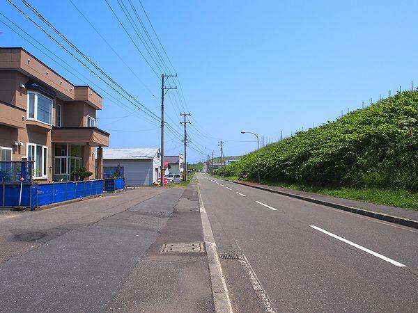 焼尻島の北海岸