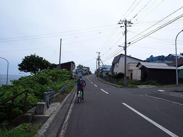 焼尻島サイクリング