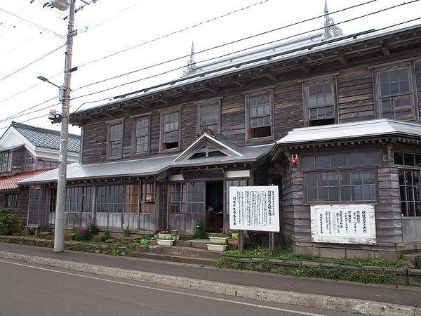 旧小納家(焼尻郷土館)