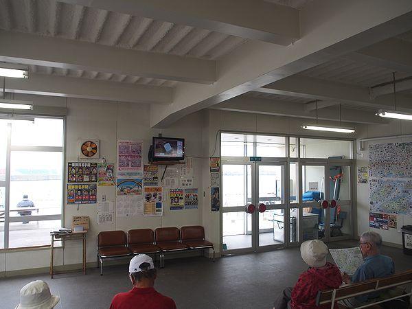 焼尻島フェリーターミナル