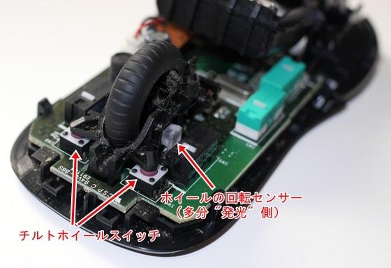 M545センサーとスイッチ