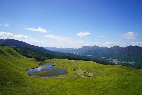 曽爾高原・亀山峠からの眺め