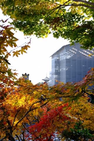 當麻寺西南院・みはらし台からの眺望