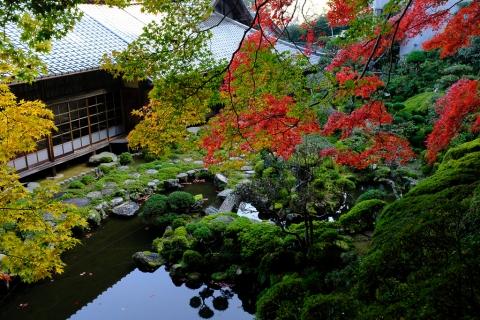 當麻寺西南院・庭園