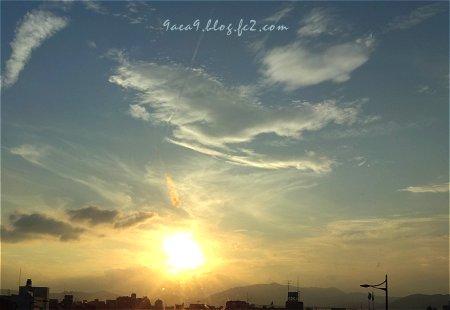 太陽を撮るのは好き