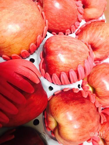 いただきもののりんご。