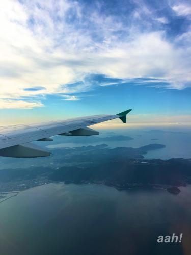 ソウルからひとっ飛び。高松へ。