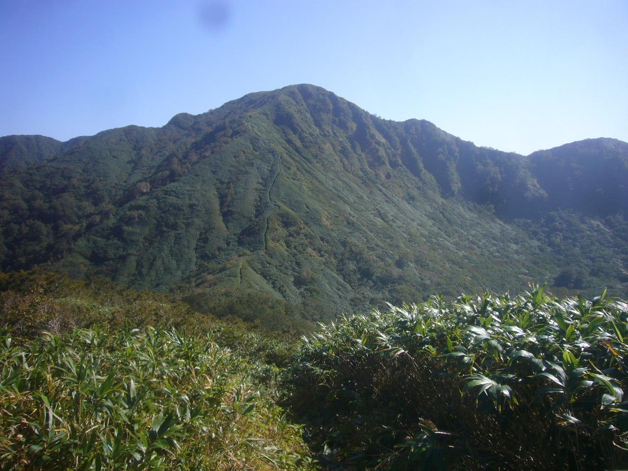 中岳から経ヶ岳 H27.9.24