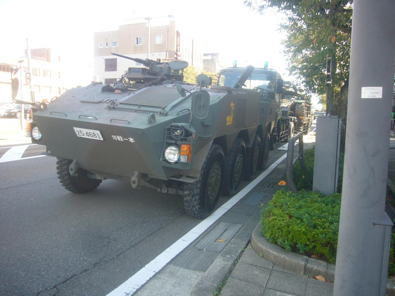96式装甲車 H30.10.21