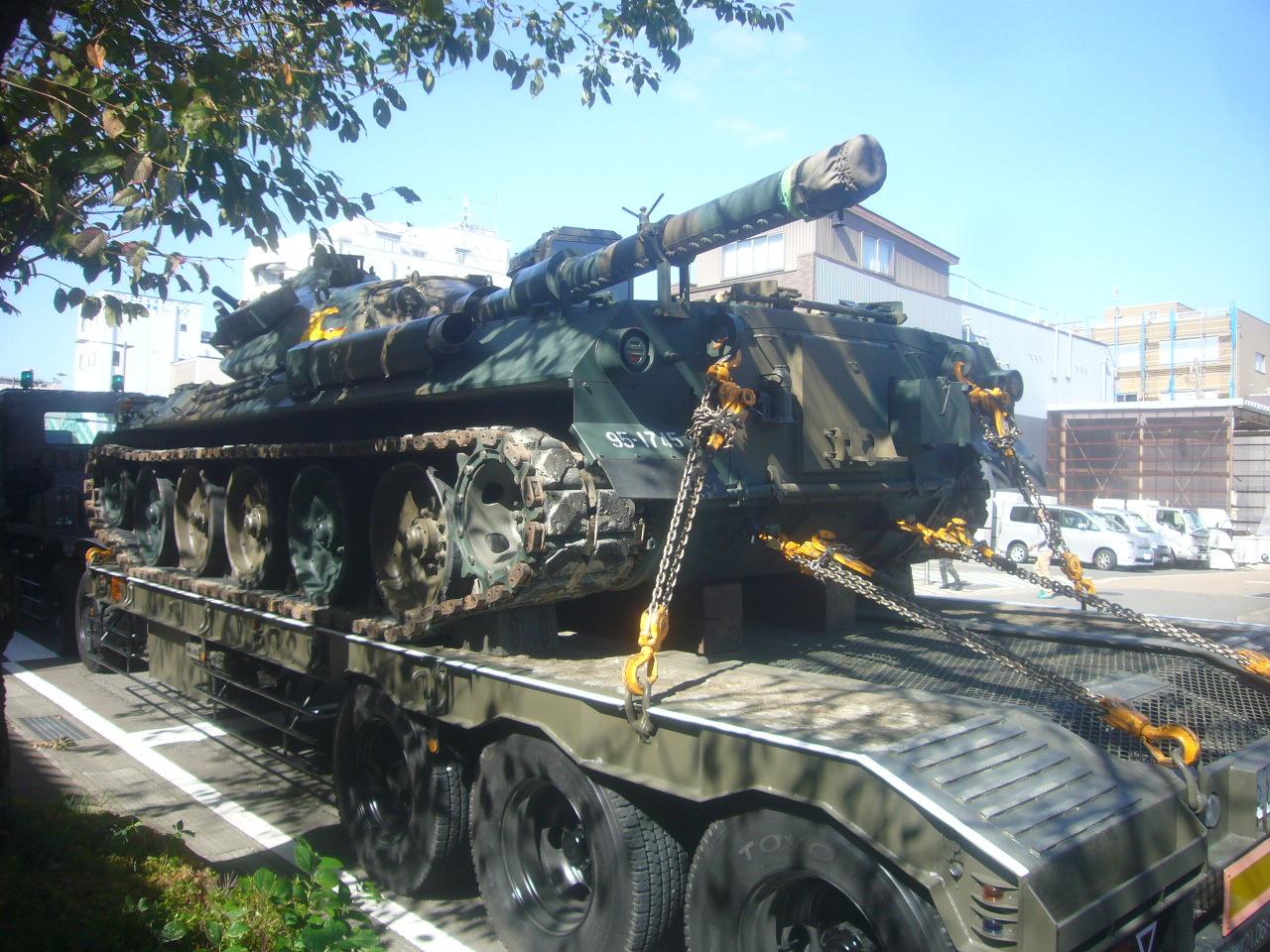 74式戦車 H30.10.21