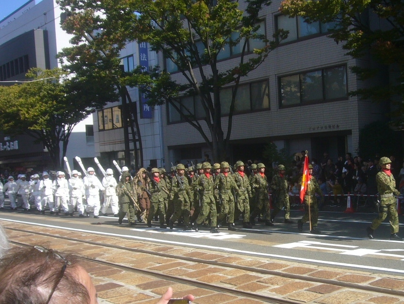 徒歩部隊 H30.10.21
