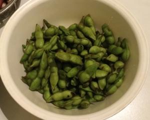 枝豆最終収穫
