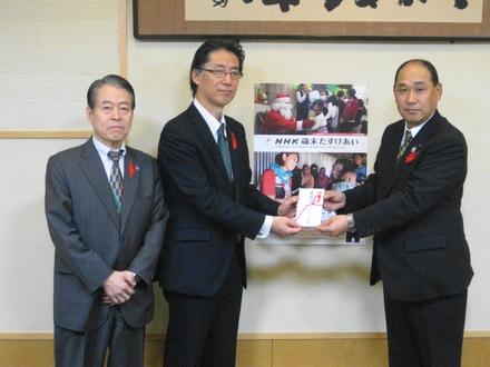 「NHK歳末たすけあい」にご協力ありがとうございました。 ~JAグループ大阪~