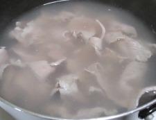 豚こま焼き豆腐 調理①