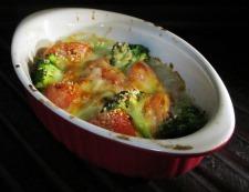 トマトとブロッコリーのオイマヨチーズ 調理⑥