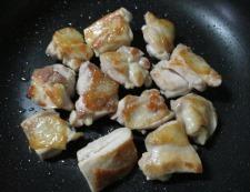 鶏もも肉中華風煮込み 調理③